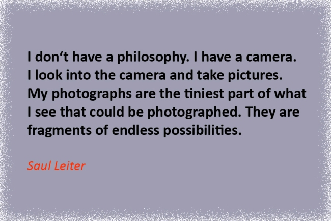 Zitat Saul_Leiter